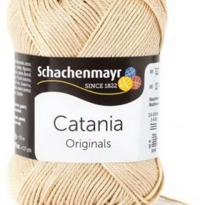 Fir de tricotat sau crosetat - Fir BUMBAC 100% MERCERIZAT CATANIA SAND 404