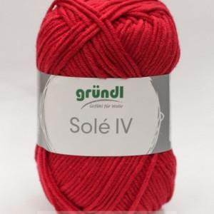 Fir de tricotat sau crosetat - Fir GRUNDL - SOLE - ROSU - 44