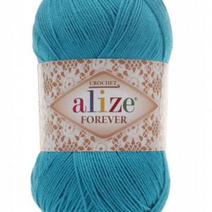 Fir de tricotat sau crosetat - Fir microfibra ALIZE FOREVER BLEO 16