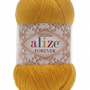 Fir de tricotat sau crosetat - Fir microfibra ALIZE FOREVER GALBEN 488