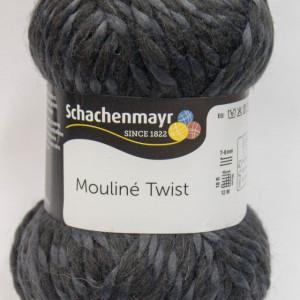 Fir de tricotat sau crosetat - Fir SCHACHENMAYR Mouline Twist GRI 00098