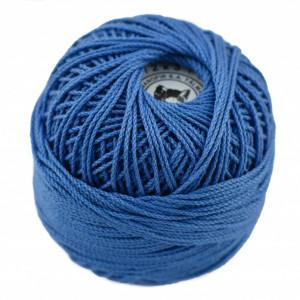 Fir de tricotat sau crosetat - Fire Bumbac 100% ANGELICA ROMANOFIR BOBINA ALBASTRU 1232
