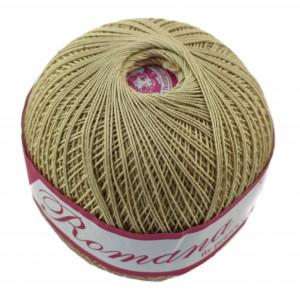 Fir de tricotat sau crosetat - Fire Bumbac 100% ROMANA - ROMANOFIR BOBINA BEJ 6