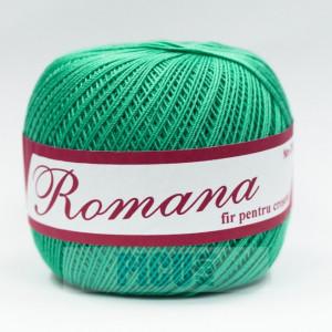 Fir de tricotat sau crosetat - Fire Bumbac 100% ROMANA - ROMANOFIR BOBINA 1249