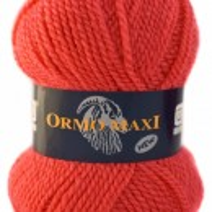 Fir de tricotat sau crosetat - Fire Nako - Ormo Maxi - ROZ - 3276