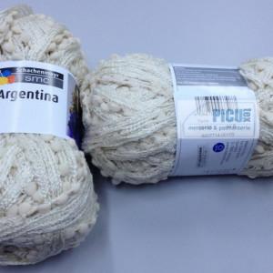 Fir de tricotat sau crosetat - Fire pretricotat esarfa Argentina A105