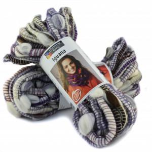 Fir de tricotat sau crosetat - Fire pretricotat esarfa COATS - IGUANA- DEGRADE 84