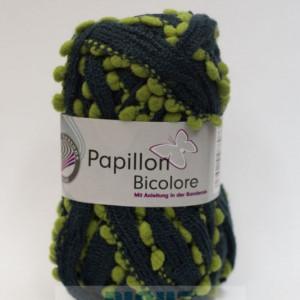 Fir de tricotat sau crosetat - Fire pretricotat esarfa GRUNDL PAPILLON BICOLORE GPB 111