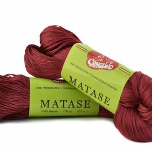 Fir de tricotat sau crosetat - Fire tip matase din vascoza Canguro - GRENA -315 -