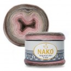 Fir de tricotat sau crosetat - Fire tip mohair acril NAKO ANGORA LUKS COLOR 81911