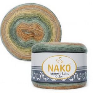Fir de tricotat sau crosetat - Fire tip mohair acril NAKO ANGORA LUKS COLOR 81912