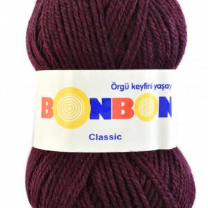 Fir de tricotat sau crosetat - Fire tip mohair din acril BONBON CLASIC 98684