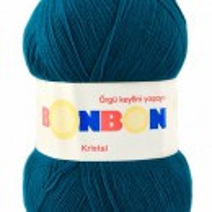 Fir de tricotat sau crosetat - Fire tip mohair din acril BONBON KRISTAL 98685