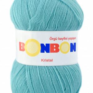 Fir de tricotat sau crosetat - Fire tip mohair din acril BONBON KRISTAL 98855