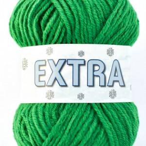 Fir de tricotat sau crosetat - Fire tip mohair din acril CANGURO - EXTRA VERDE - 326