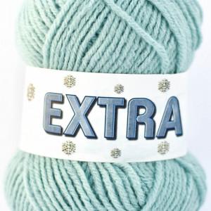 Fir de tricotat sau crosetat - Fire tip mohair din acril CANGURO -EXTRA ALBASTRU- 346