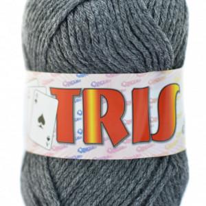 Fir de tricotat sau crosetat - Fire tip mohair din acril CANGURO - TRIS GRI 342