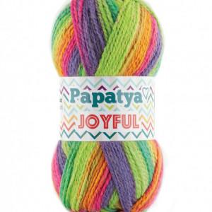 Fir de tricotat sau crosetat - Fire tip mohair din acril Kamgarn Papatya Joyful degrade 16