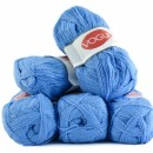 Fir de tricotat sau crosetat - Fire tip mohair din acril Nako Export - #7235 - ALBASTRU