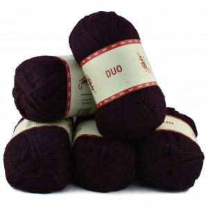 Fir de tricotat sau crosetat - Fire tip mohair din acril Nako Export - #8032-VISINIU