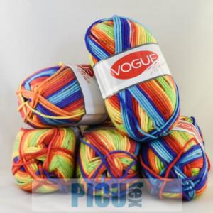 Fir de tricotat sau crosetat - Fire tip mohair din acril Nako Export - #6338