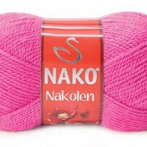 Fir de tricotat sau crosetat - Fire tip mohair din lana 50% si acril 50% Nakolen ROZ 3658