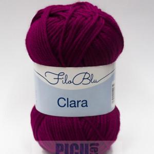 Fir de tricotat sau crosetat - Fire tip mohair din poliester Filo Blu - Clara 15