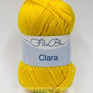 Fir de tricotat sau crosetat - Fire tip mohair din poliester Filo Blu - Clara 20