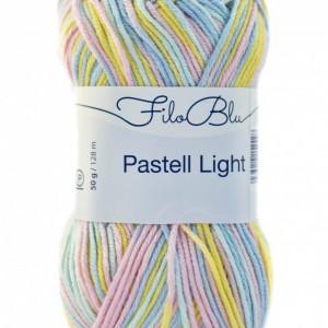 Fir de tricotat sau crosetat - Fire tip mohair din poliester Filo Blu - PASTELL LIGHT 05