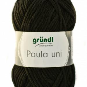 Fir de tricotat sau crosetat - PAULA UNI by GRUNDL NEGRU - 11