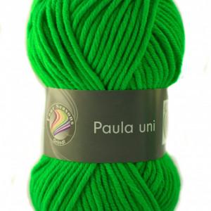 Fir de tricotat sau crosetat - PAULA UNI by GRUNDL VERDE - 15 (FLUO)