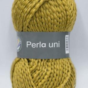 Fir de tricotat sau crosetat - PERLA UNI by GRUNDL GALBEN 41