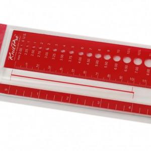 KnitPro Accesorii - sablon masurare rectangular