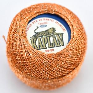 Fir de crosetat polyester + lurex KAPLAN 244