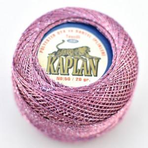 Fir de crosetat polyester + lurex KAPLAN 318