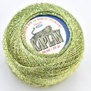 Fir de crosetat polyester + lurex KAPLAN 3348