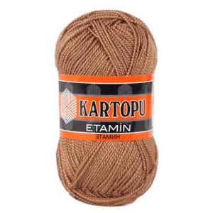 Fir de tricotat,brodat sau crosetat - Fir KARTOPU ETAMIN MARO 840