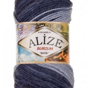 Fir de tricotat sau crosetat - Fir ACRILIC ALIZE BURCUM BATIK DEGRADE 4761
