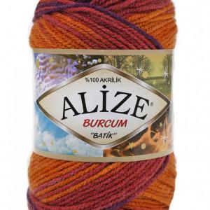 Fir de tricotat sau crosetat - Fir ACRILIC ALIZE BURCUM BATIK DEGRADE 4827