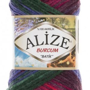 Fir de tricotat sau crosetat - Fir ACRILIC ALIZE BURCUM BATIK DEGRADE 4343