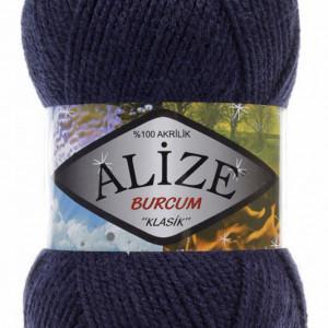 Fir de tricotat sau crosetat - Fir ACRILIC ALIZE BURCUM KLASIK BLEOMAREN 58