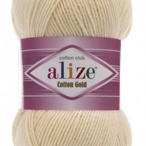 Fir de tricotat sau crosetat - Fir ALIZE COTTON GOLD CREAM 458