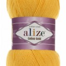 Fir de tricotat sau crosetat - Fir ALIZE COTTON GOLD GALBEN 216