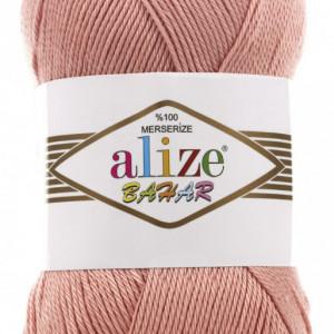Fir de tricotat sau crosetat - Fir BUMBAC 100% ALIZE BAHAR PUDRA 34