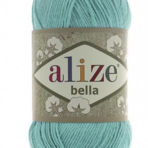 Fir de tricotat sau crosetat - Fir BUMBAC 100% ALIZE BELLA - VERNIL 477