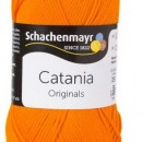 Fir de tricotat sau crosetat - Fir BUMBAC 100% MERCERIZAT CATANIA ORANGE 281