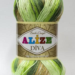 Fir de tricotat sau crosetat - Fir microfibra ALIZE DIVA BATIK DEGRADE 5944