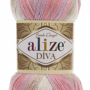 Fir de tricotat sau crosetat - Fir microfibra ALIZE DIVA BATIK DEGRADE 2807