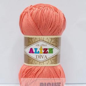Fir de tricotat sau crosetat - Fir microfibra ALIZE DIVA FREZ 619