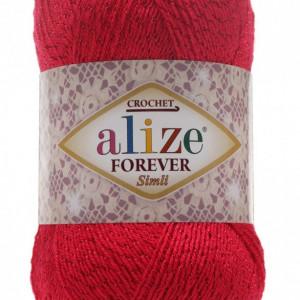 Fir de tricotat sau crosetat - Fir microfibra ALIZE FOREVER SIMLI ROZ 396